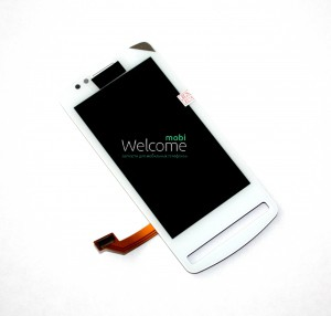 Дисплей Nokia 700+touch screen white orig