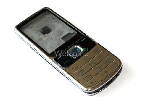 Корпус Nokia 6700 Classic silver high copy полный комплект+клавиатура