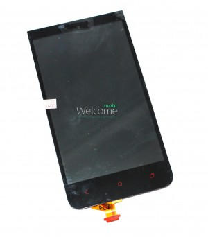 Дисплей HTC 603e,E1 with touchscreen black orig