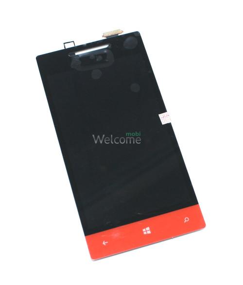Сенсор HTC A620e Windows Phone 8S orange (с дисплеем) orig