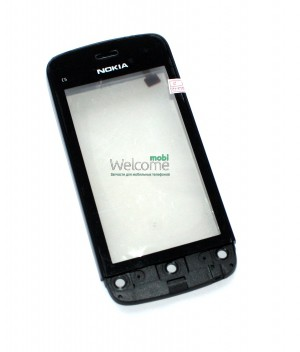 Сенсор Nokia C5-03,C5-06 black with frame orig