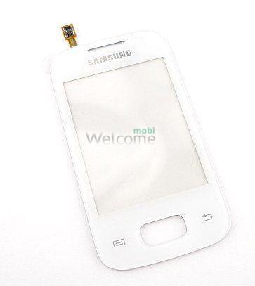 Сенсор Samsung S5300,S5302 white orig