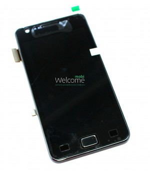 Дисплей Samsung i9100 with touch screen black Galaxy S2 orig