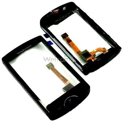 Сенсор Sony Ericsson ST15i Xperia mini with frame black orig