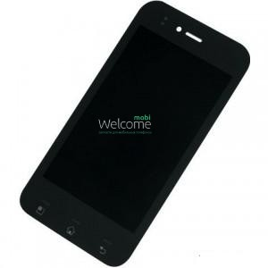 Дисплей LG E730,E739 Optimus Sol with touchscreen black orig