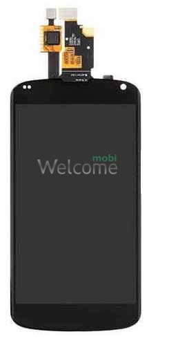 Дисплей LG E960 Nexus 4 with touchscreen black orig