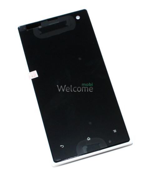 Дисплей Sony LT26W Xperia acro S white with touchscreen orig
