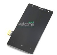 Дисплей Nokia 1020 Lumia black with touchscreen orig