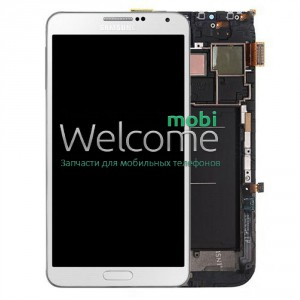 Дисплей Samsung N9000 Note 3,N9005 Note 3,N9006,N900 Note 3 white with touchscreen orig