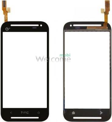Сенсор HTC Desire 608t black orig