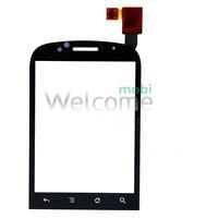 Сенсор Huawei U7519 black orig (logo T-mobile)