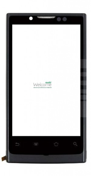 Сенсор Huawei U9000 Ideos X6 Ascend X black with frame orig