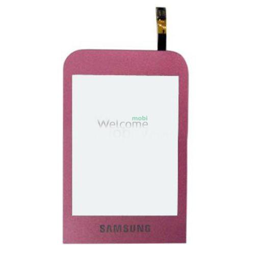 Сенсор Samsung C3300 pink orig