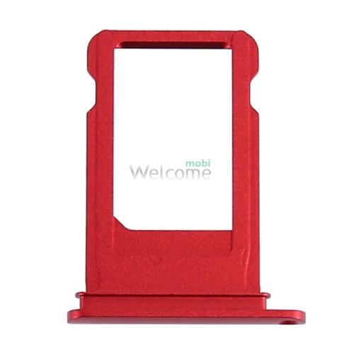 iPhone7 sim holder red orig