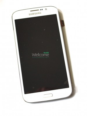 Дисплей Samsung I9152,I9150 Galaxy Mega 5.8 white with touchscreen with panel service orig