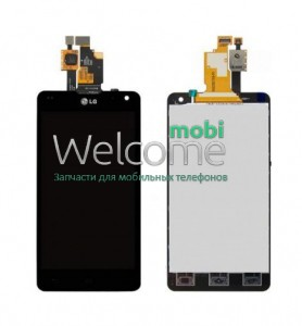 Дисплей LG E971 Optimus G,E970,E973,E975,E976,E977,LS970,F180K,F180L black with touchscreen orig