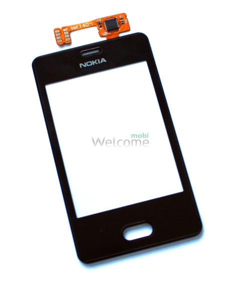 Сенсор Nokia 501 Asha black high copy