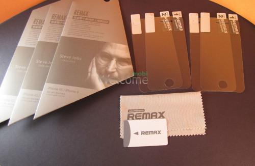 Защитная пленка iPhone5s REMAX full матовая+глянцевая (полная защита телефона)