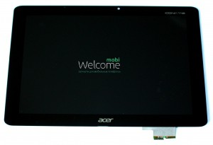 Дисплей к планшету Acer Iconia Tab A510,Iconia Tab A511 black with touchscreen orig
