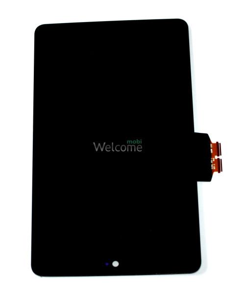 Дисплей к планшету Asus Nexus 7 google,me370 black with touchscreen orig 1 поколение (2012)