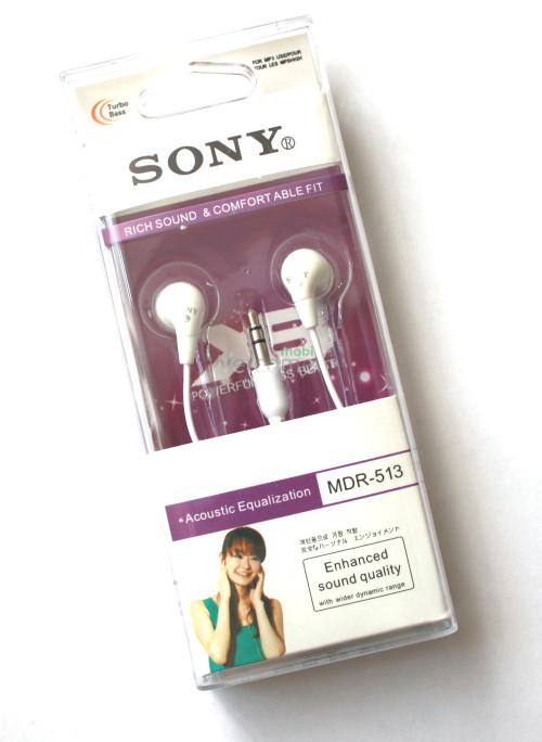 Наушники вакуумные Sony MDR-513 white