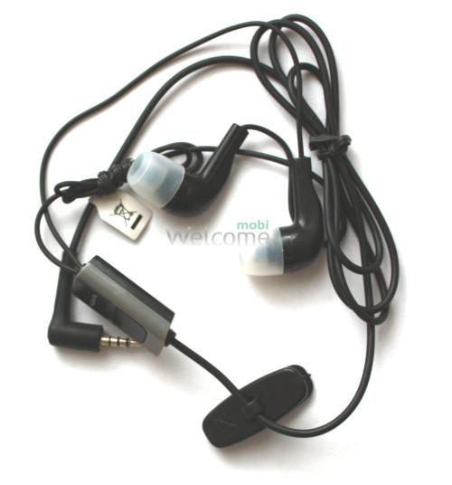 Наушники вакуумные Nokia HS-1745 black (гарнитура)