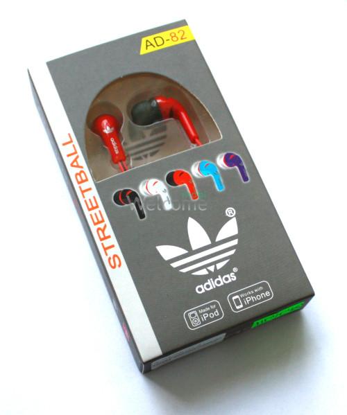 Наушники вакуумные adidas AD-82 red