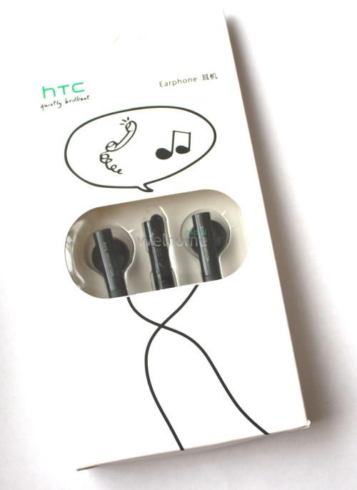 Наушники вакуумные HTC duietly brilliant black (гарнитура)