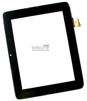 Сенсор для China-Tablet PC 8 GoClever Tab R83.2 (black, capacitive, 6 pin, (205*159 mm),, 8) #PINGBO PB80M805-1