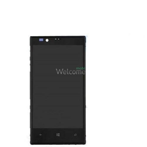 Дисплей Nokia 720 Lumia with touchscreen black orig