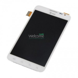 Дисплей Samsung i717 white with touchscreen orig