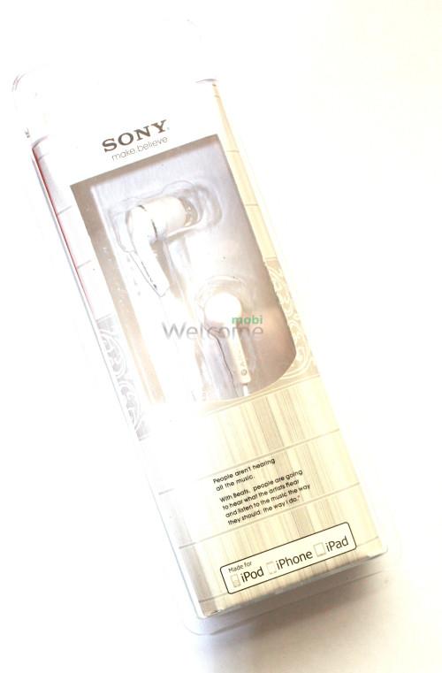 Наушники вакуумные Sony make.believe L-901,903 white