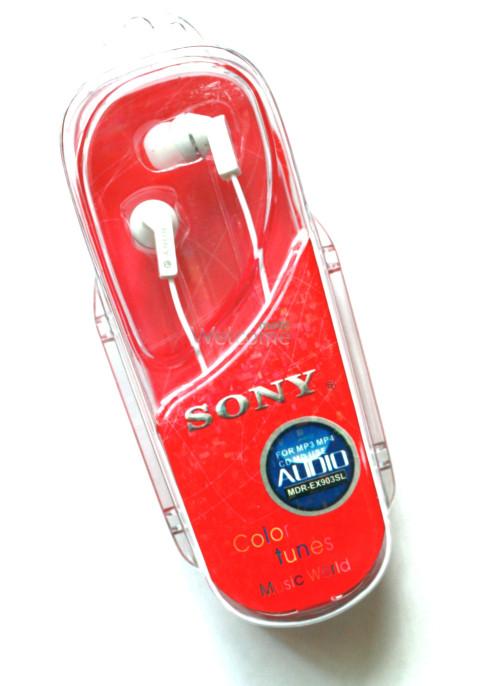 Наушники вакуумные Sony MDR-EX901-903SL white