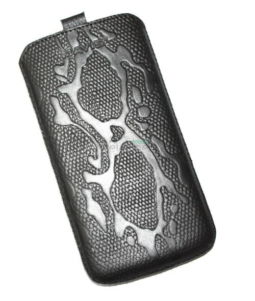 Чехол кожа  Mavis Classic Python Black LG D802 G2 (75x145)