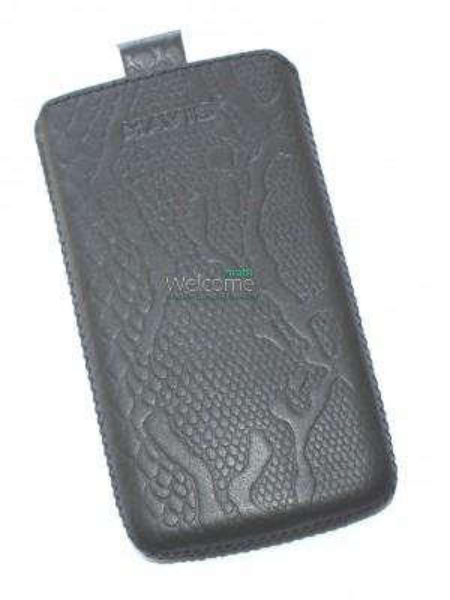 Чехол кожа  Mavis Classic Python Black LG L7 II Optimus,L7 II Optimus Dual (P713,P715)-(72x127)