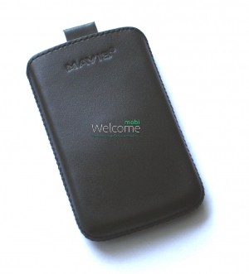 Чехол кожа  Mavis Classic Black LG L3 II Optimus,L3 II Optimus Dual (E425,E435) (65x110)