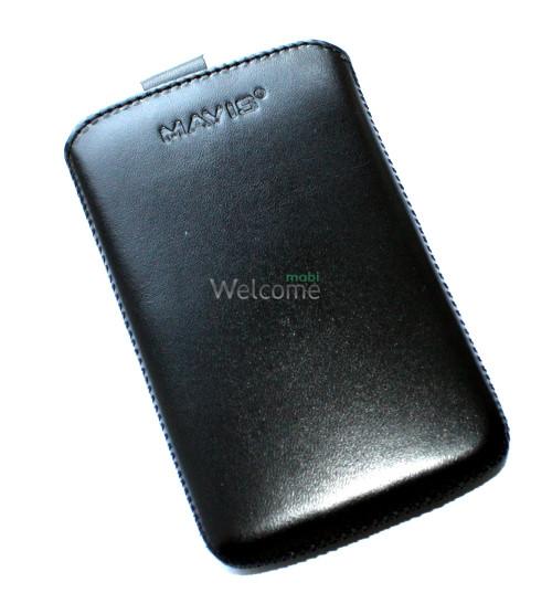 Чехол кожа  Mavis Classic Black LG L4 II Optimus,L4 II Optimus Dual (E440,E445)-(73x120)