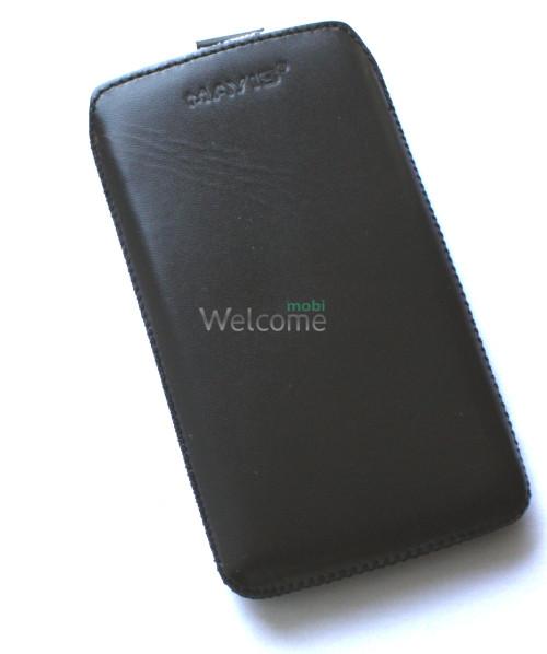 Чехол кожа  Mavis Classic Black Lg L9 Optimus (P760,P765)-(80x140)