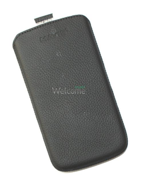 Чехол кожа  Mavis Classic Flotar Black Lenovo A800 (75x135)