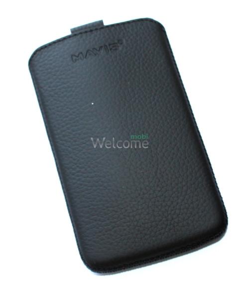 Чехол кожа  Mavis Classic Flotar Black LG L4 II Optimus,L4 II Optimus Dual (E440,E445)-(73x120)