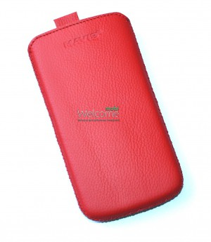 Чехол кожа  Mavis Classic Flotar Red HTC S720e One X,X325s One XL (77x142)