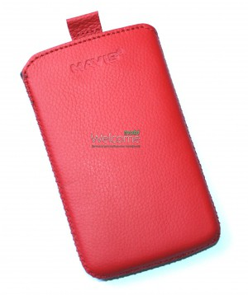Чехол кожа  Mavis Classic Flotar Red LG L3 II Optimus,L3 II Optimus Dual (E425,E435) (65x110)