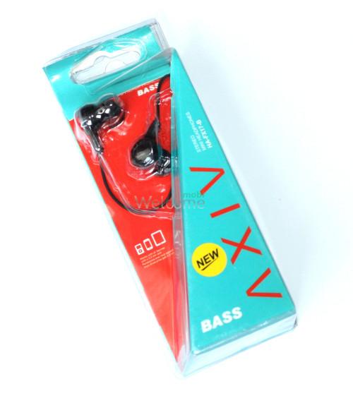 Наушники вакуумные AXIV HA-FX17-B black