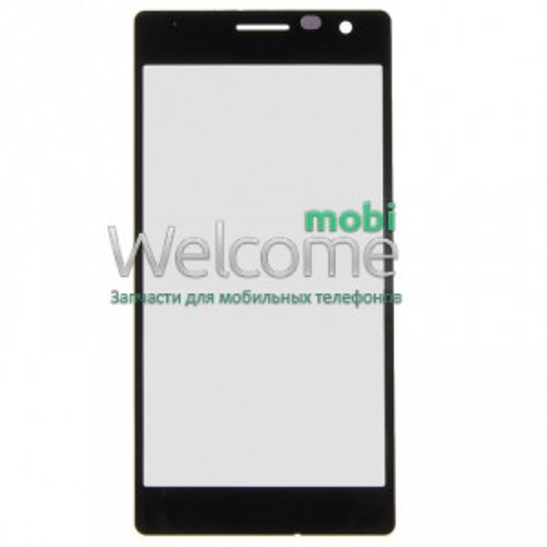 Стекло Nokia 730 Lumia black orig