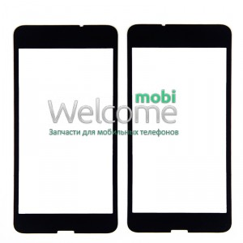Стекло Nokia 630,635,636 Lumia black orig