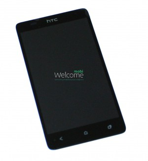 Дисплей HTC Desire 400 Dual Sim,T528w One SU with touchscreen black orig