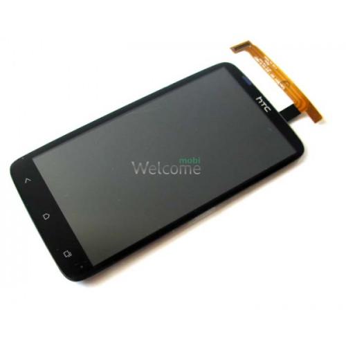 Сенсор HTC One XL X325s (с дисплеем) black orig