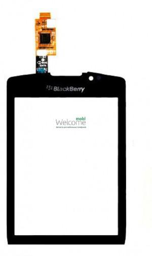 Сенсор Blackberry 9800 black orig