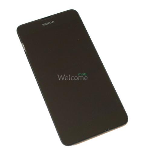 Дисплей Nokia 630 Lumia with touchscreen black orig