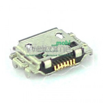 Коннектор зарядки Samsung S8300,N7000,S5830,S5620,S3370,C3530,B7722,S8000 high copy (5 шт.)